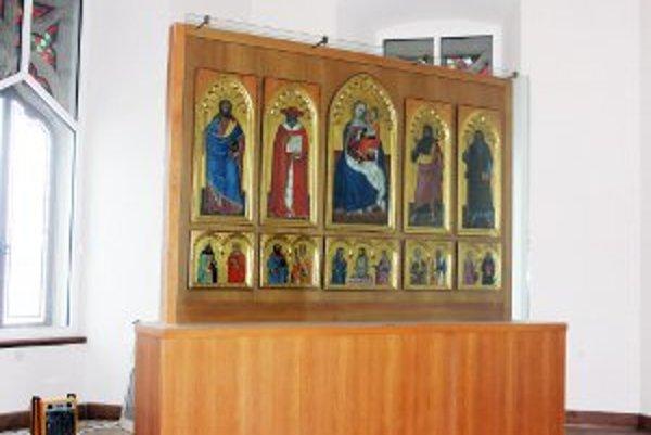 Bojnický oltár.