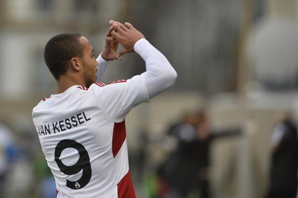 Gino Van Kessel otvoril skóre zápasu so Senicou.