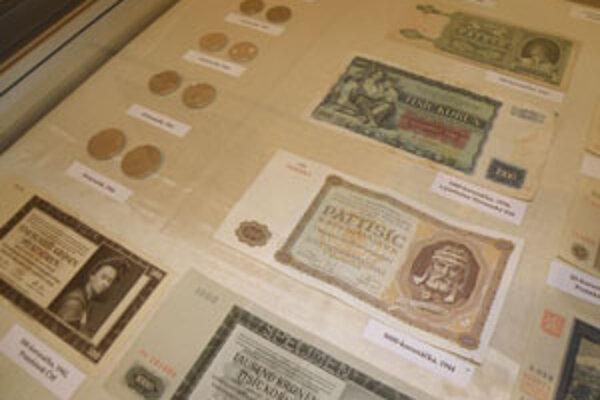 Rokmi hodnota niektorých mincí a bankoviek stúpla.