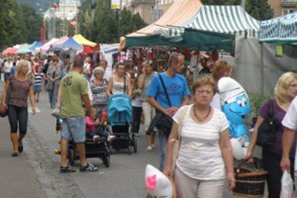 Na Baníckom jarmoku si otvoril stánky rekordný počet obchodníkov.