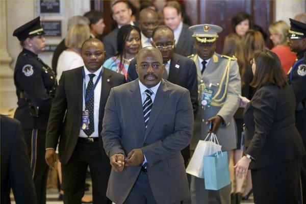 Prezident Konžskej demokratickej republiky Joseph Kabila.