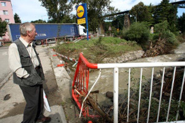 Pred dvomi rokmi voda ukázala na hornej Nitre svoju ničivú silu.