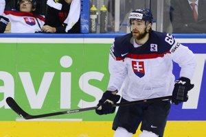 Tomáš Marcinko v národnom drese Slovenska.
