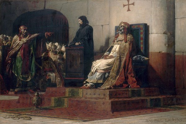 Štefan VI. nariadil súd s mŕtvolou.