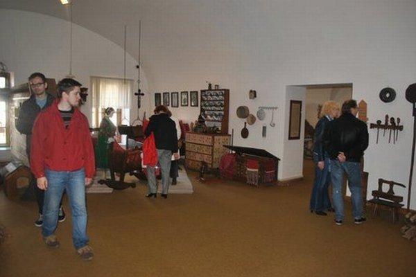 Krajské múzeum v Prešove. Má zaujímavé expozície, chlapcov iste priláka najmä stará hasičská technika.