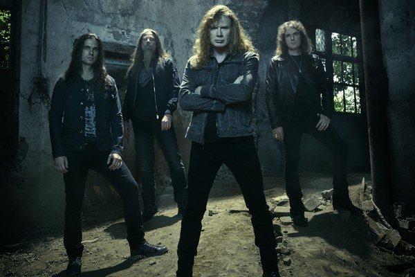 Megadeth v súčasnej zostave.