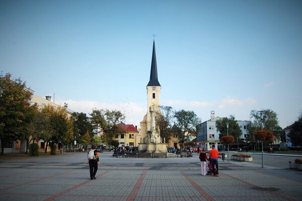 Hlavné námestie v Nových Zámkoch