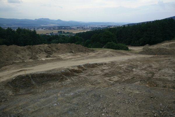 Lokalita Vávrová. Výstavba novej štvrte už začala.
