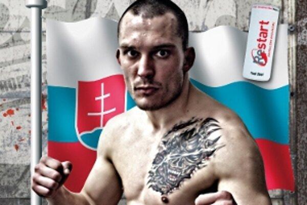 Vladimír Idranyi, aktuálny profi šampión Európy a sveta v low-kicku.