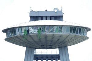 Jediné UFO v okolí je aj naďalej to nad Dunajom.