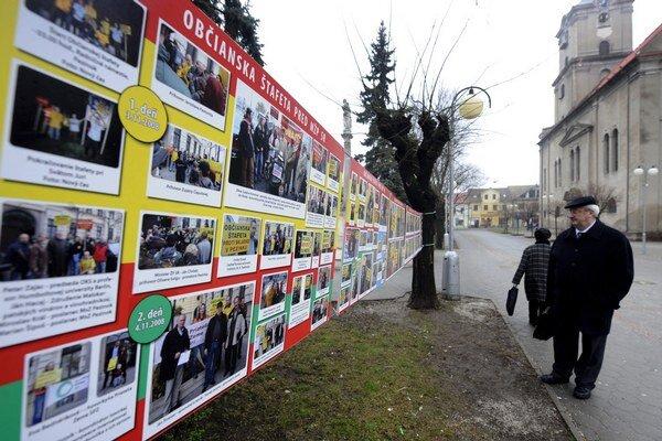 Proti skládke sa spojilo množstvo Pezinčanov. Banský úrad so zákazom budovať skládky nesúhlasí.