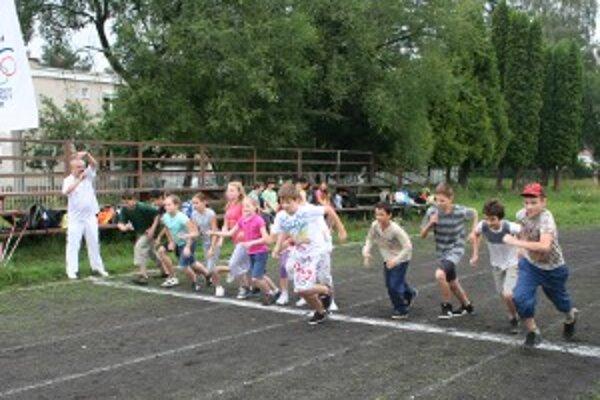 Účastníci bežali s nadšením.