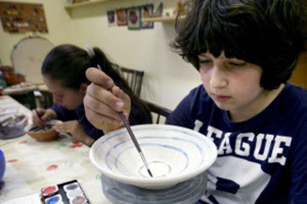 Deti môžu v centrách voľného času absolvovať rôzne krúžky.