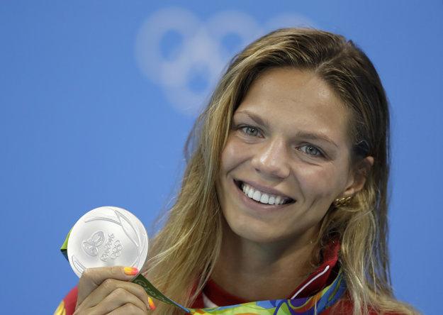 Julia Jefimovová získala striebornú medailu.