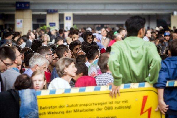 Do Nemecka pokračovali utečenci z Viedne.