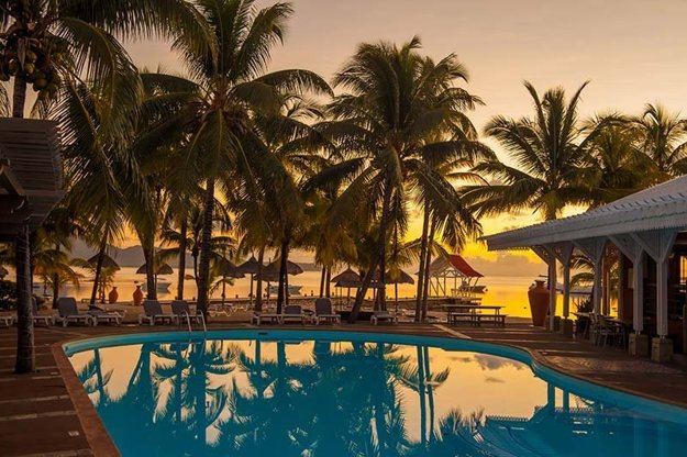 Hotel Le Preskil Beach Resort(4*), Maurícius