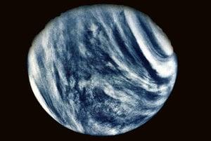 Slávny záber Venuše zhotovený sondou Mariner 10.