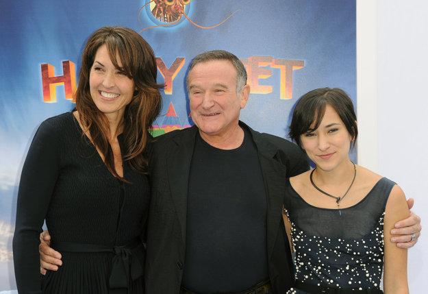 S poslednou manželkou Susan a dcérou Zeldou