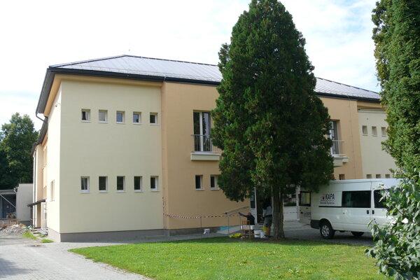 Kultúrny dom v Očovej.