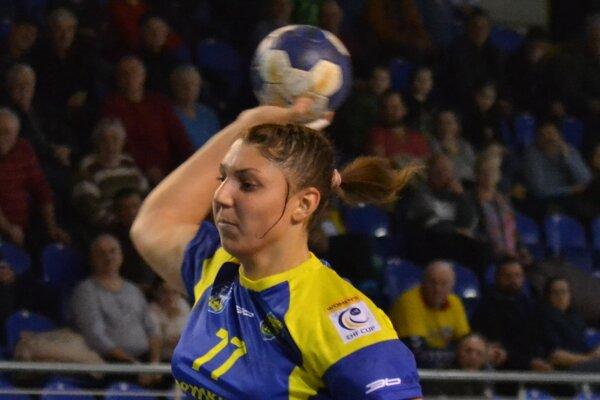 Pivotka Perederijová. Na domácom turnaji vsietila spolu 17 gólov.