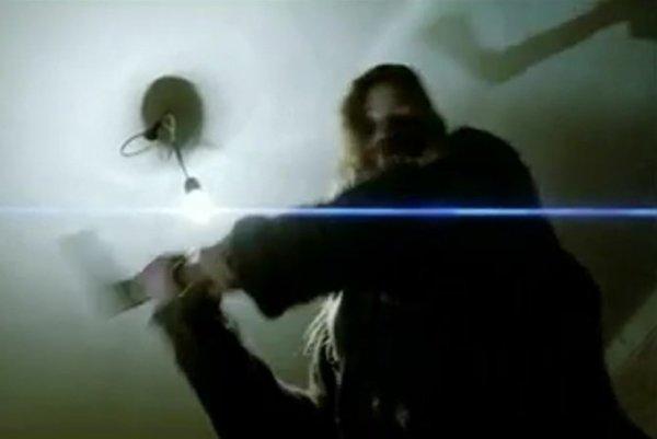 Záber z traileru k filmu o vrahyni Irene Čubírkovej, ktorý sa nepodarilo nakrútiť.