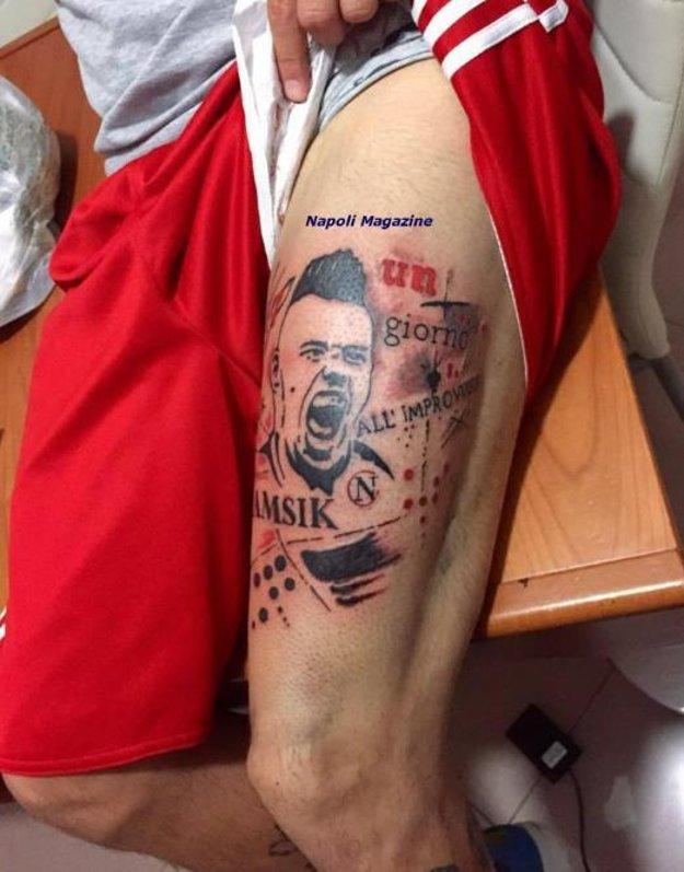 Tetovanie fanúšika.