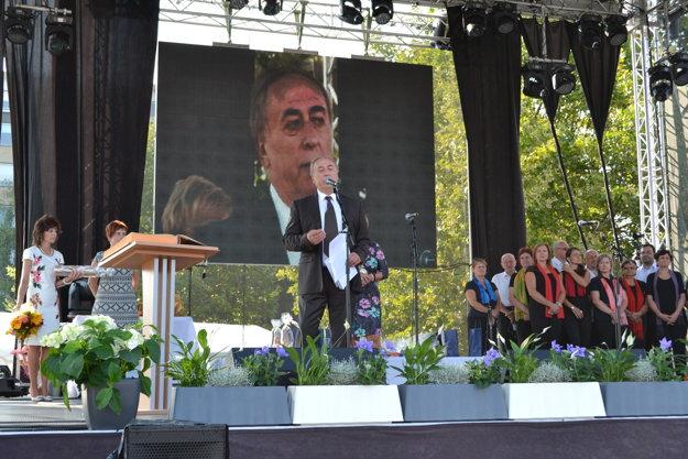 Slavo Ondrejovič, čestný občan mesta.
