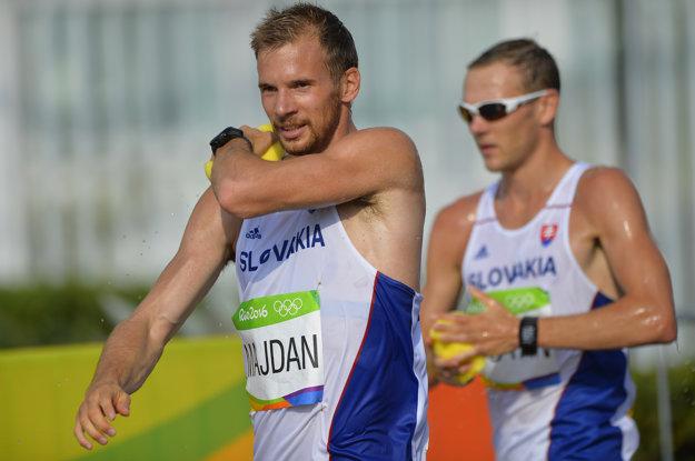 Majdán šiel istý čas aj s tretím slovenským reprezentantom Tišťanom, ktorého rozhodcovia vylúčili.