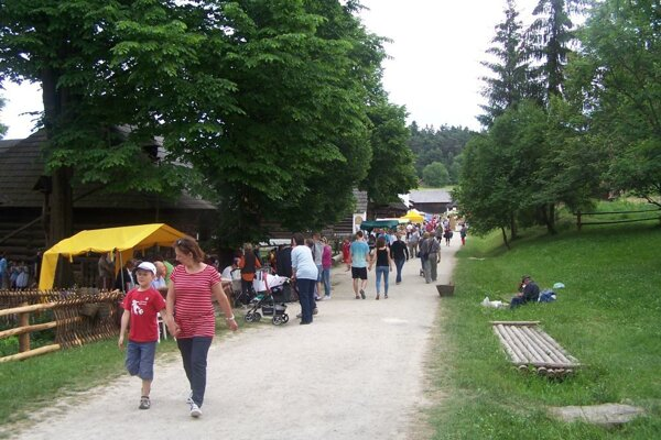 Múzeum slovenskej dediny SNM v Martine.