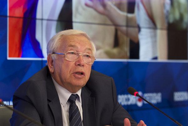 Prezident Ruského paralympijského výboru Vladimír Lukin.