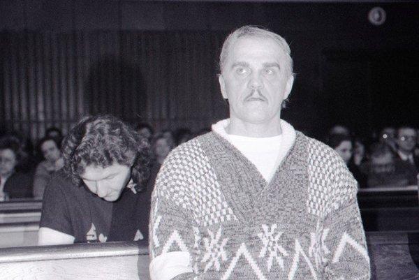 Ján Molnár na archívnej snímke zo 17. januára 1992.