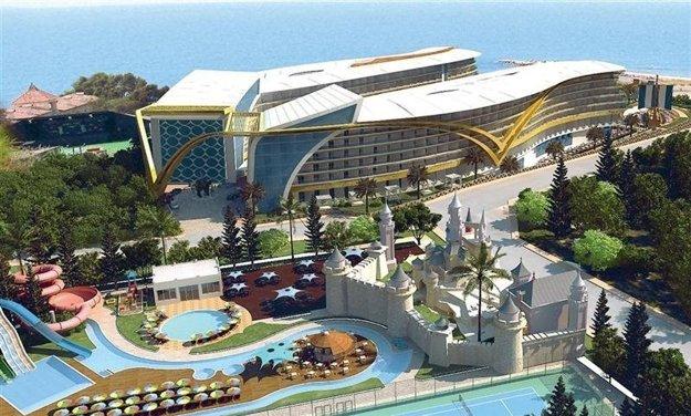 Vikingen Infinity Resort (5*), Turecko, Alanya