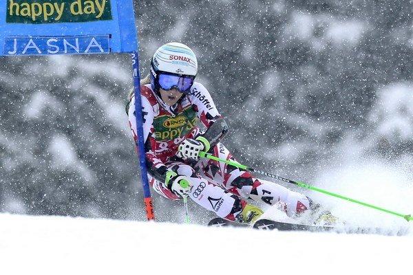 Rakúska pretekárka Eva-Maria Bremová.