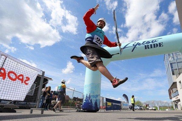 Liptov Ride prepojil zimné športy s letnými formou jedných pretekov