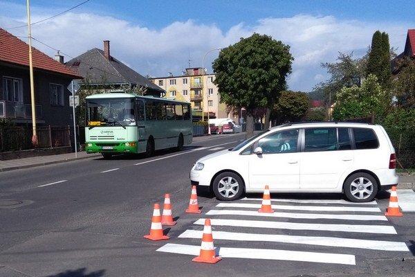 Premávka v Ružomberku by mala byť opäť plynulá do dvoch týždňov.