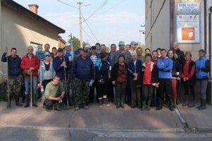 Medzi dobrovoľníkmi z Partizánskej Ľupče boli členovia všetkých organizácií, ktoré v obci pôsobia.
