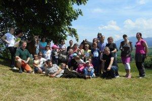 Podujatia sa zúčastnili takmer všetky deti z obce vrátane dospelých a niekoľkých turistov.