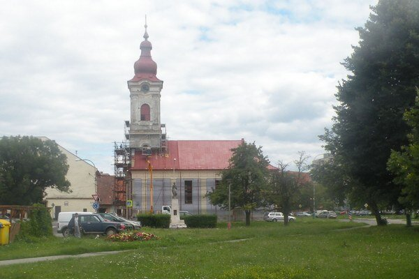 Kostol Zbierka vo Vrbici.