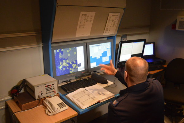 Obsluha radaru