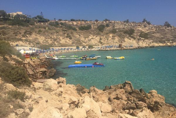 Severný Cyprus, pobrežie.