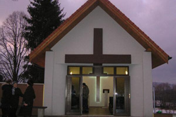 V Solke dokončili dom smútku len prednedávnom.