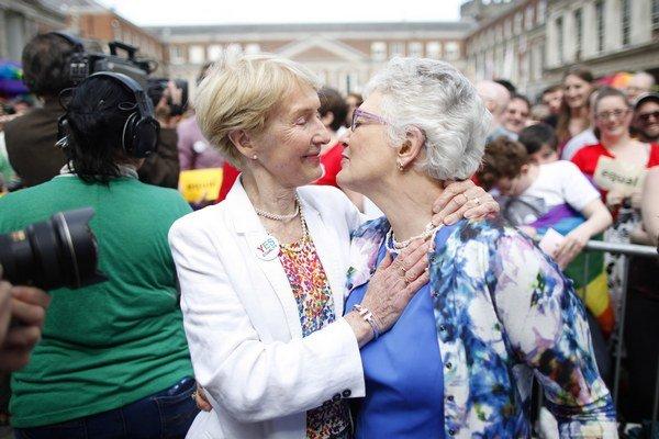 Homosexuálne manželstvá v Írsku referendom prešli, Nemecko ich chce tiež.