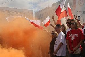 Poliaci oslavujú 72. výročie Varšavského povstania proti nacistickým okupantom.
