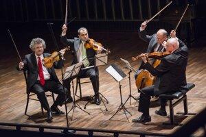 Kodályho kvarteto. Vystúpi na festivale po prvý raz.