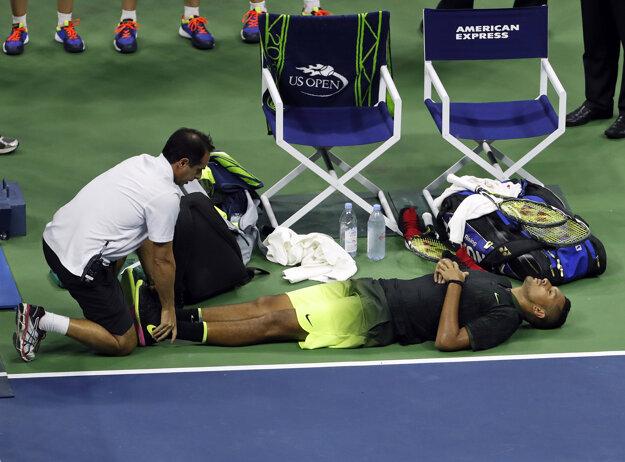 Nick Kyrgios odstúpil z US Open pre bolesti.