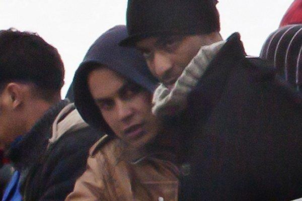Abdal-Madžíd Touil (v kapucni) pricestoval do Talianska na lodi plnej nelegálnych migrantov.