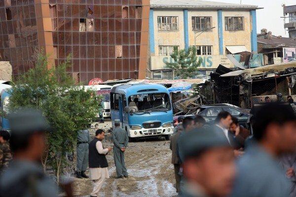 K útoku došlo na parkovisku ministerstva spravodlivosti, kde bolo odpálené auto naložené výbušninami.