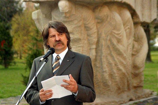 Predseda maďarského parlamentu László Kövér.