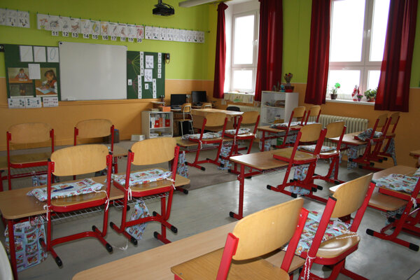 Riaditeľské voľno vyhlásili školy po rokovaní so starostom Vladimírom Bajanom na základe odporúčaní ministerstva školstva. ILUSTRAČNÉ FOTO