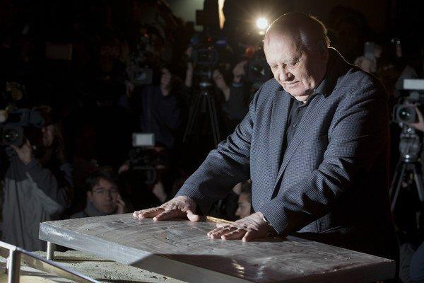 Michail Gorbačov.